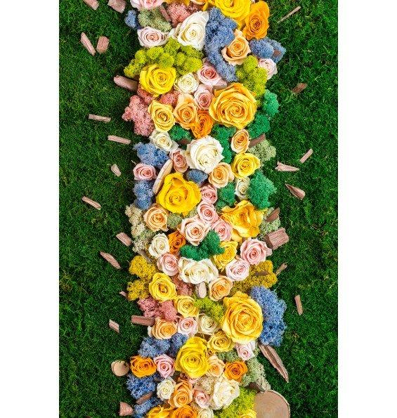Цветы и мох