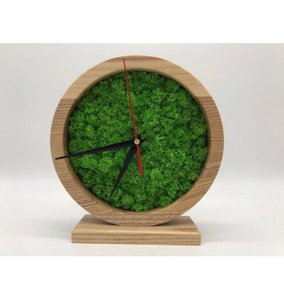 Часы со мхом 20 см