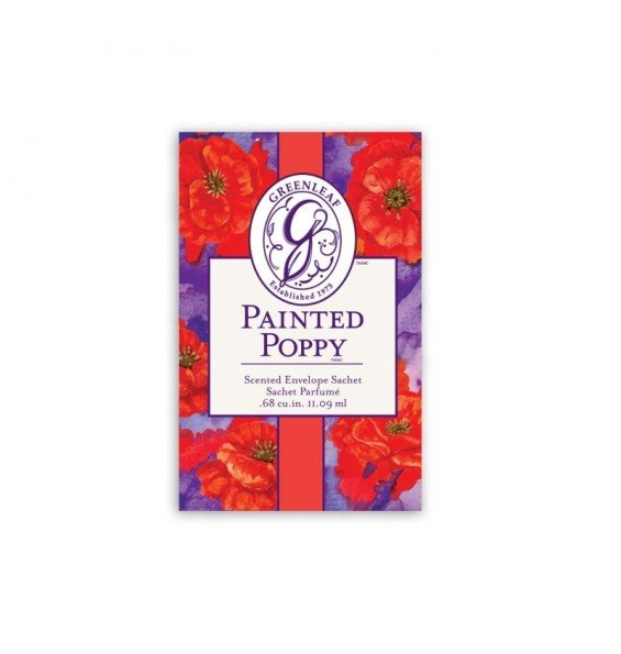 Саше Цветной Мак (Painted Poppy)