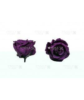 Роза стандарт темно розовая