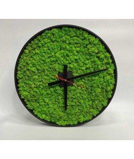 Часы со мхом 50 см