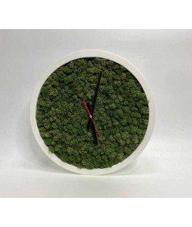 Часы со мхом 40 см