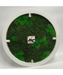 Часы со мхом 60 см