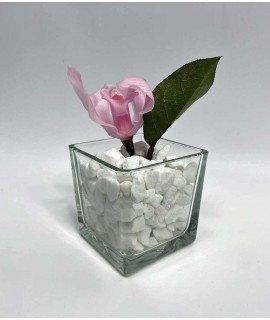 """Композиция """"Розовая орхидея"""""""