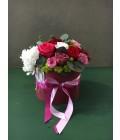 """Шляпная коробка """"Красные розы"""" - Фото1"""