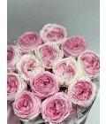 """Шляпная коробка """"Пионовидные розы"""" - Фото2"""
