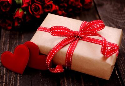 Подарок на день святого Валентина: фото
