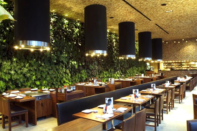 Флористика для кафе, ресторанов, баров от EFLORA
