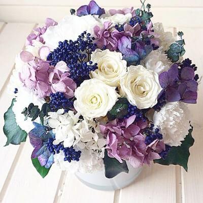 Букет цветов в подарок: фото
