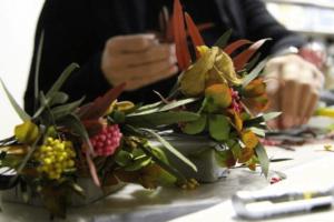 Флористический мастер-класс по работе со стабилизированными цветами