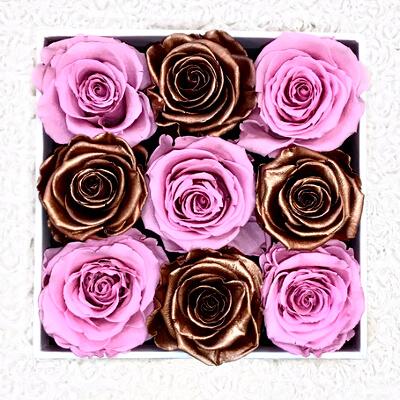 Искусственные розы: фото