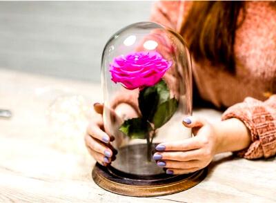 Роза в колбе: фото