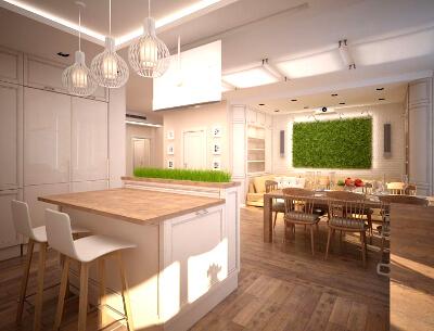 Экостиль кухни: фото