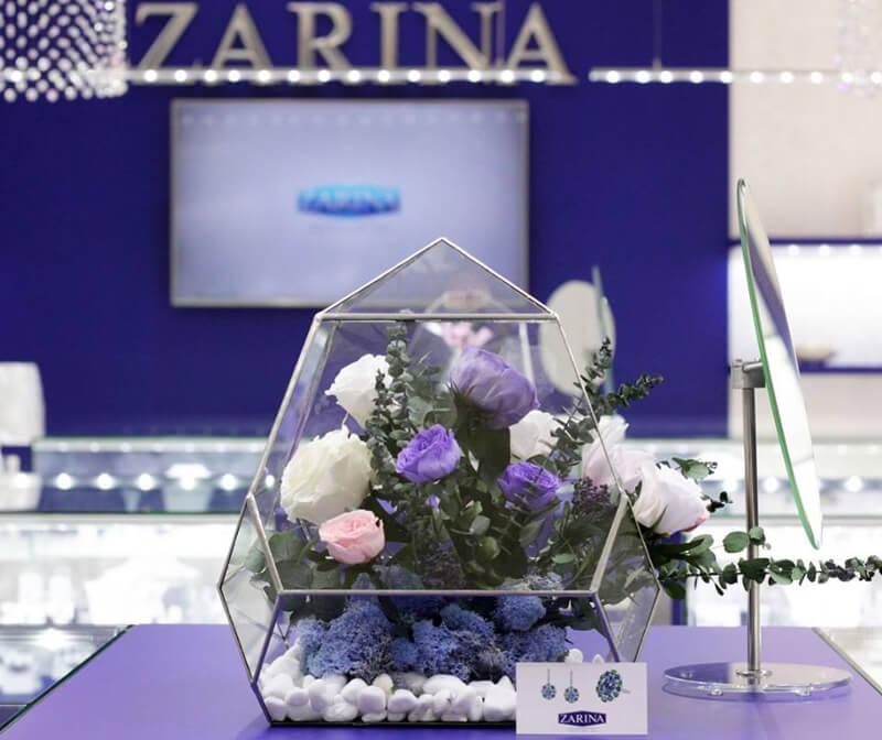Стабилизированные букеты для ZARINA