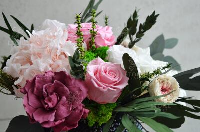 Красивый букет из роз