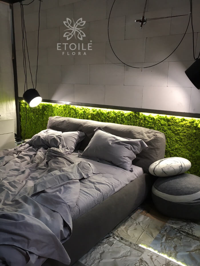 Спальня в екостилі