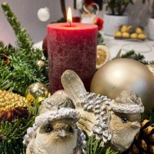 Рождественский интерьер 2021